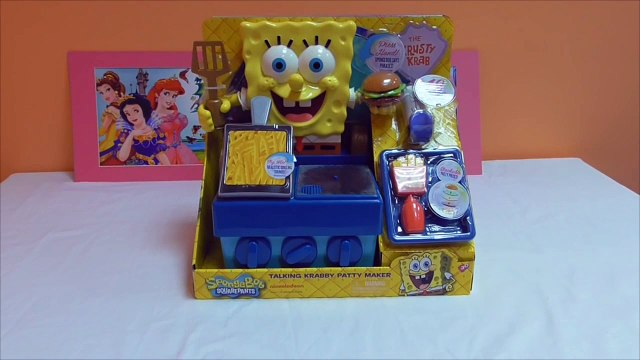 Little Kelly - Toys & Play Doh  - Spongebob Krabby Patty Maker ( Bikini Bottom, P