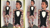 Ranveer Singh Quirky Bollywood Cinema Outfit at Filmfare Awards 2018 Grabs Limelight