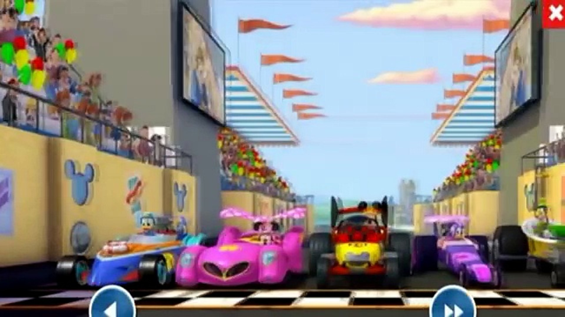 Mickey And The Roadster Racers 4 Gear Up And Go Disney Junior Games For Kids Hd Mickey Games Video Dailymotion