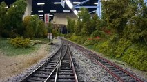 Cab Ride on Spanish Model Railroad Layout in HO Scale