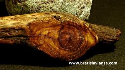 JIZERA - Original hand carved wooden spoon by Břetislav Jansa
