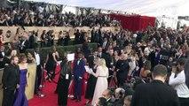 Hollywood: tapis rouge aux SAG Awards