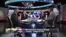 """Hall of Famer"" vs ""QB who had a good year"", Minnesota Vikings Keenum vs New Orleans Saints Bre"
