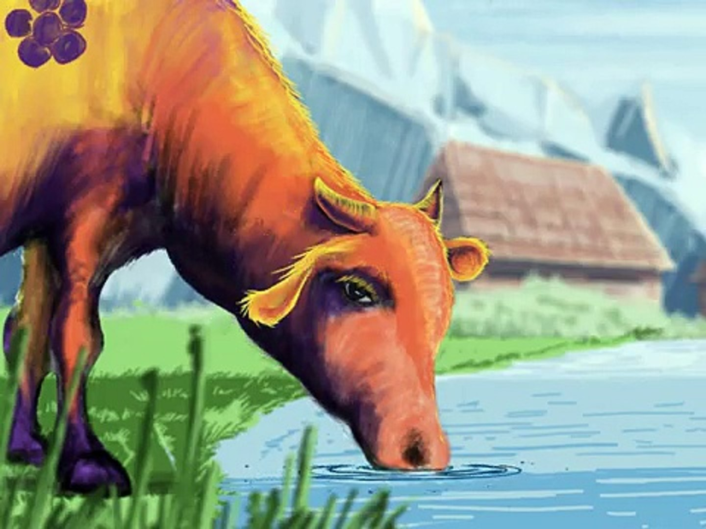 Cudotvorno mlijeko (Wondermilk) - a short animated film by Ivan Ramadan (Bosnian version)