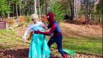 Frozen Elsa & Spiderman Find a TREASURE! w  Joker Spidergirl Toys! Superhero Fun in real life IRL | Superheroes | Spiderman | Superman | Frozen Elsa | Joker