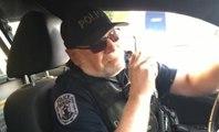 Le dernier message radio très émouvant d'un policier qui part en retraire !