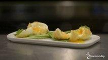 Oeufs mollets aux asperges vertes