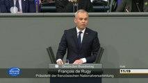 """François de Rugy devant les députés allemands : """"La France et l'Allemagne forment une famille !"""""""