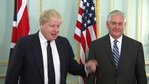 """Johnson and Tillerson reaffirm the """"special relationship"""""""