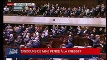 Édition spéciale: discours de Mike Pence à la Knesset