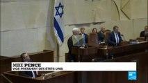 Mike Pence à la Knesset
