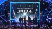 Veep Cast- Acceptance Speech - 24th Annual SAG Awards - TBS