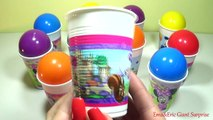 CUPS and Balls Surprise Eggs LEARNING COLORS Toys For Kids Colour Balls Video Fo (2)