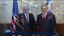 Diplomatie: Mike Pence et Benyamin Netanyhou se sont entretenus