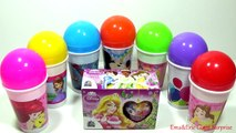CUPS and Balls Surprise Eggs LEARNING COLORS Toys For Kids Colour Balls Video Fo