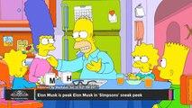 Elon Musk is Peak Elon Musk in 'Simpsons' Sneak Peek - TOI