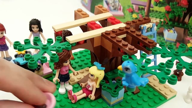 Lego Friends Olivias Tree House Building Review 3065