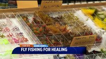Veterans Experience New Form of Therapy Through Fly Fishing