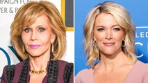 Megyn Kelly Responds to Jane Fonda's Criticism, Has No Regrets Over Cosmetic Surgery Question | THR News