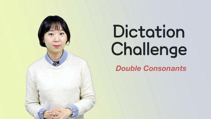 Korean Dictation Test (with double consonants) - Weekly Korean Challenge