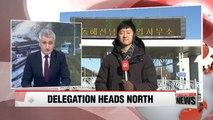 South Korean inspection team crosses border into North Korea