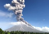 Ash Spews From Mayon Volcano as Alert Level is Raised