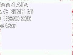 Caricabatterie 18650 Universale a 4 Alloggi AA AAA C NiMH Ni