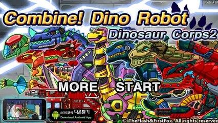 Dino Robot Dinosaur Corps 2