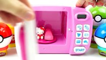 Play Doh Magic Microwave Oven Pixar Toy Story Hello Kitty Disney Cars Modeling Clay