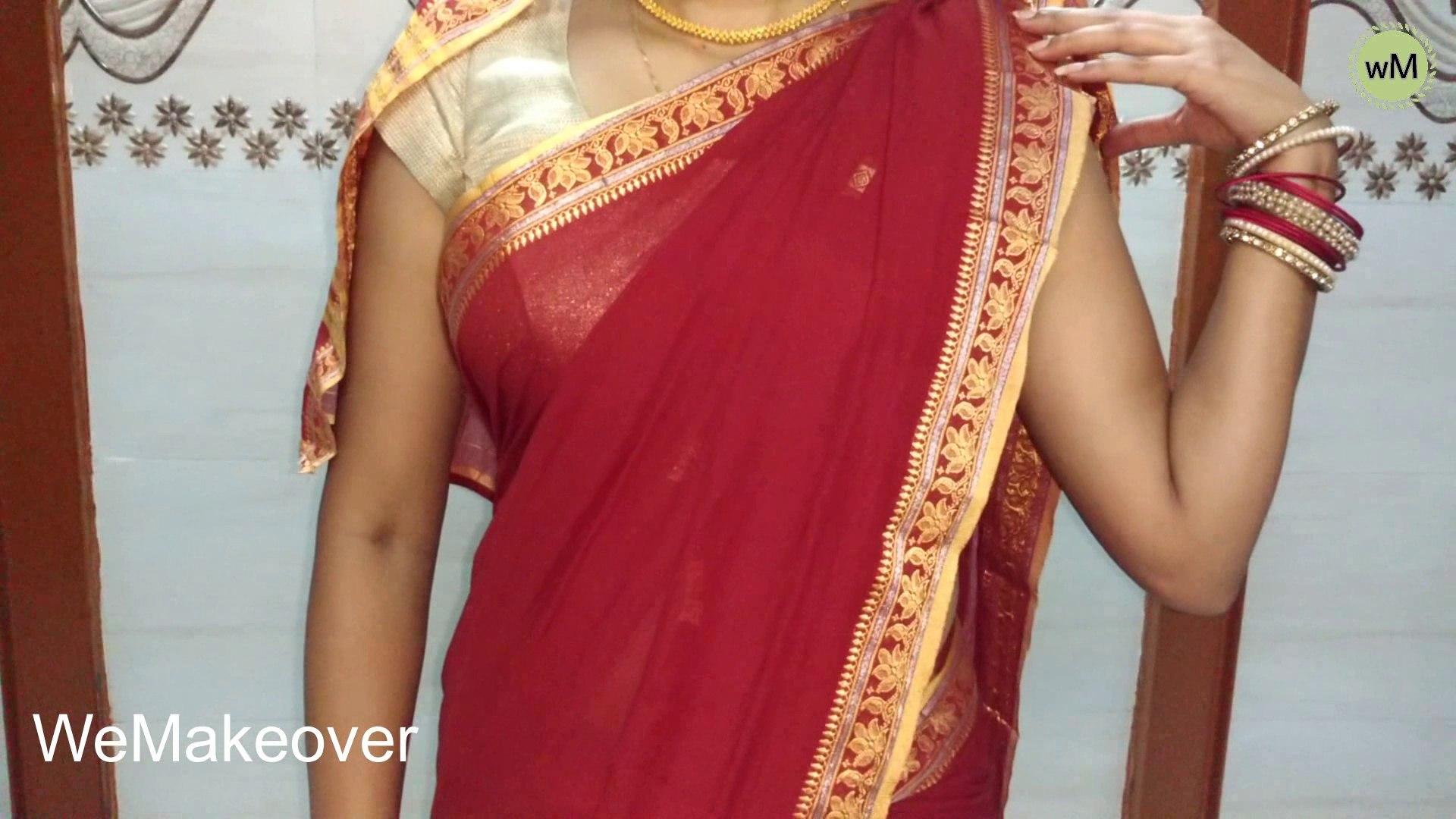 How To Wear Maharashtra's Traditional Navvari saree ? Maharashtrian Style Saree Easy way