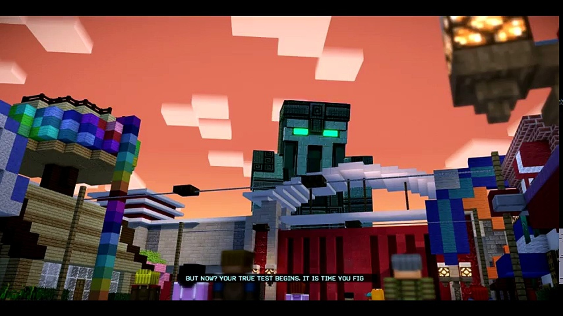 The Admin Boss Fight Minecraft Story Mode Season 2 Episode 2