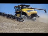 New Holland CR9080 Hillside Combine 072713.2