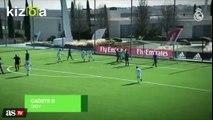 Vídeo El Bernabéu le espera el golazo de un cadete del Madri