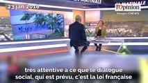 Carrefour: Muriel Pénicaud commente la suppression des postes