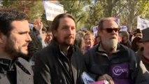 Pablo Iglesias y Alberto Garzón exigen a Gas Natural que no permita más muertes por cortes de luz