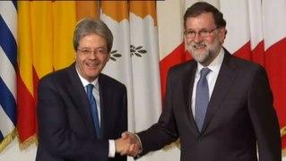 Rajoy acude a la cumbre de los paises del Sur de E