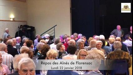 FLORENSAC - Repas des ainés 2018
