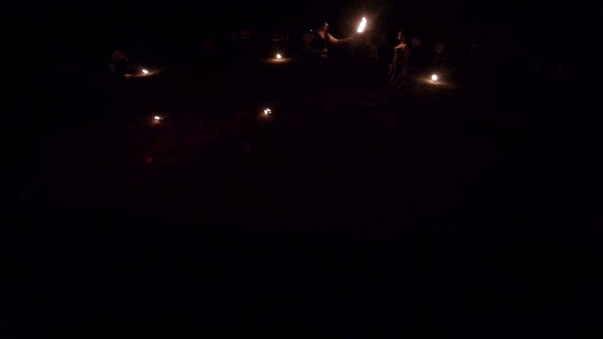 Little fire show in Slovakia - Hestia Fire Dance