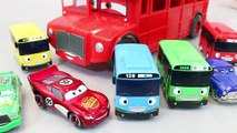 Disney Cars Tayo the Little Bus English Learn Numbers Colors Toy Surprise Toys