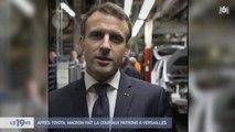 [Zap Actu] E. Macron en visite chez Toyota puis se rend à un Sommet à Versailles ! (23/01/2018)