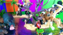 Amazing Wild Animals Toys Apes Monkeys Gorilla Baboons Chimpanzees Orangutans Kids Toy Review