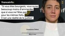 """Constance Debré :""""Si vous êtes bourgeois, vous aurez beaucoup moins d'emmerdes"""""""