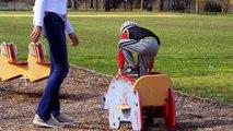 Максим Играет на Детской Площадке в Америке - Бегаем Веселимся Катаемся с Горок Kids Playground