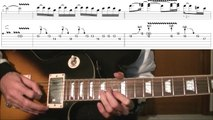 Guns n roses - estranged solo 2 guitar solo lesson (WITH TAB)