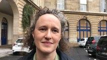 Crue de la Seine: la maire-adjointe Colombe Brossel présente les dispositions prises à Paris.