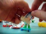 6 eggs kinder surprise ouverture doeufs /opening par les robocar poli/super wings en français