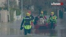 Crues en Seine-et-Marne : des zones inondées et des familles évacuées