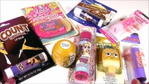 Lip Balm Bonanza 8! BABY LIPS Lip Gloss Pucker Pops PINK FIZZ Nail Kit Cake! Beauty FUN