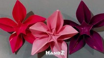 Awesome decoration for gifts - Origami flower Carambola Carmen - Great ideas Valentines gift