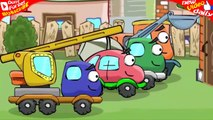 WHEELY Car Cartoons! AMAZING BILDING in Car World, NEW GARAGE For WHEELY #51 PlayLand